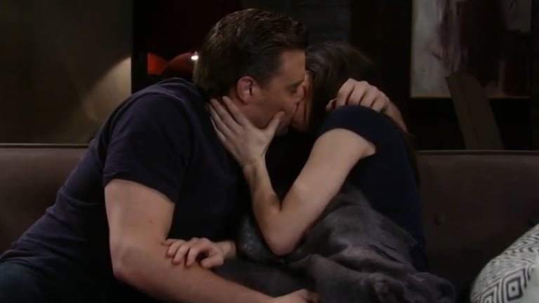 Hot Scene: Jason and Sam Kiss on General Hospital (VIDEO)