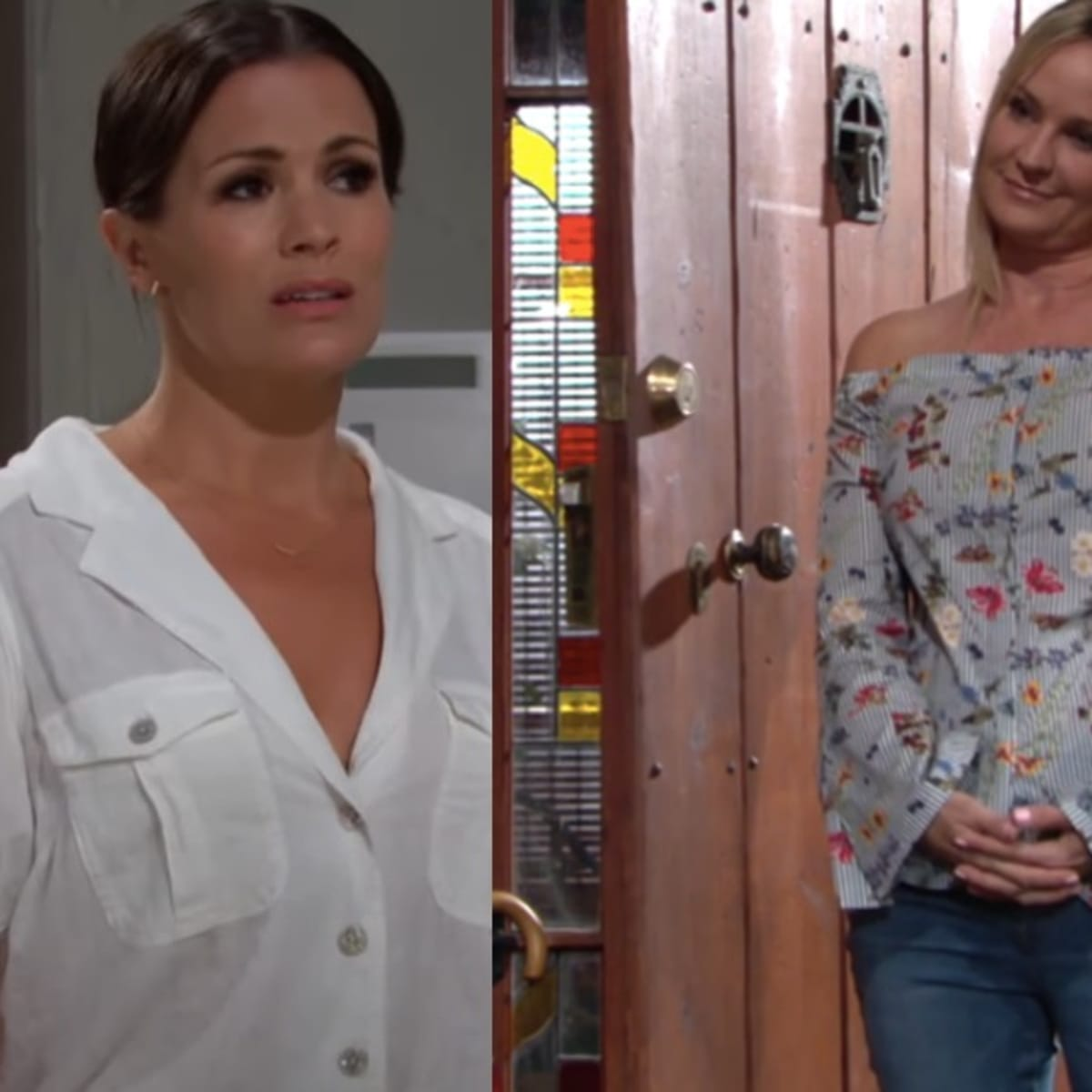 The Young And The Restless Spoilers Chelsea And Sharon Square Off Over Adam Daytime Confidential