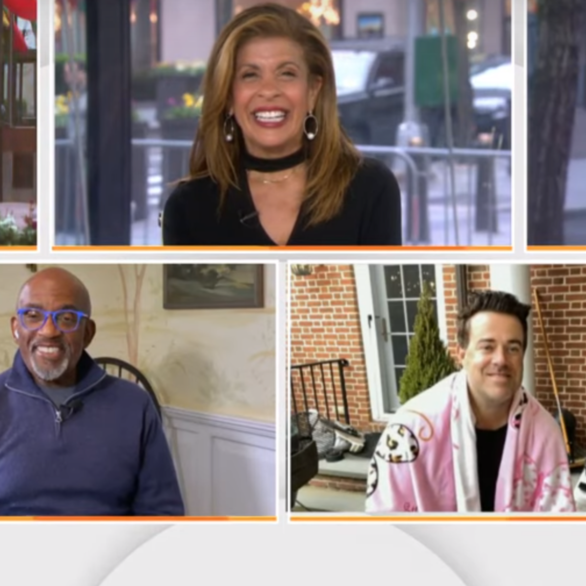 Watch Carson Daly Gives Himself A Haircut Live On The Today Show