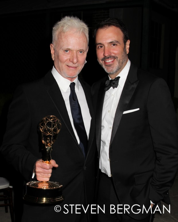 Anthony Geary and Ron Carlivati