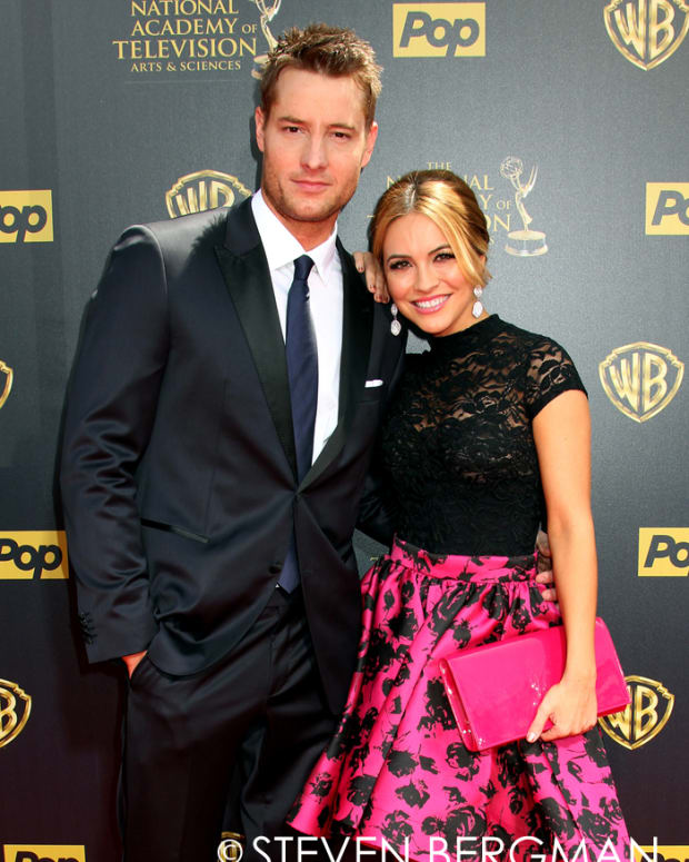 Just Hartley and Chrishell Stause