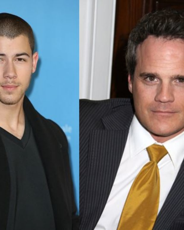 Nick Jonas and Michael Park