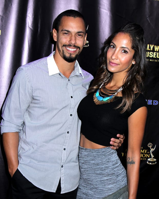 Bryton James, Christel Khalil