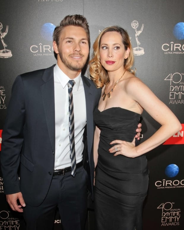 Scott Clifton with wife Nicole