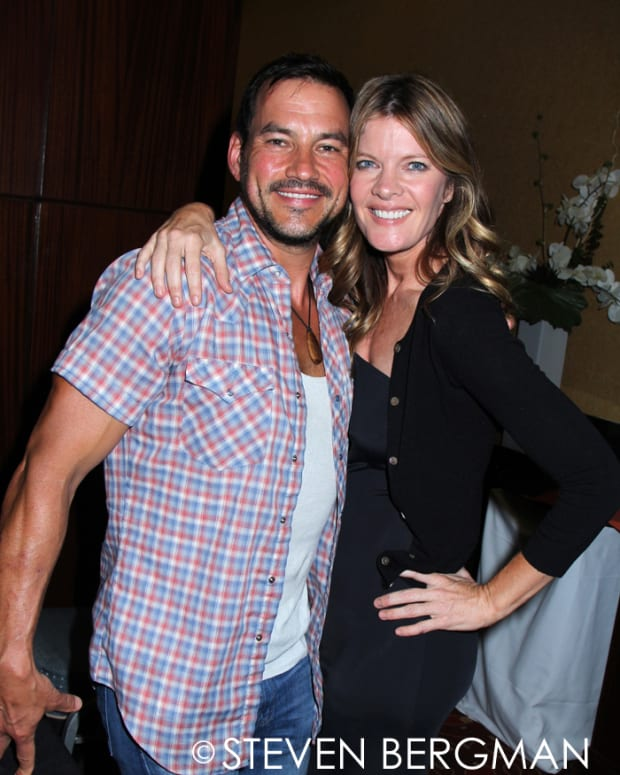 Tyler Christopher, Michelle Stafford