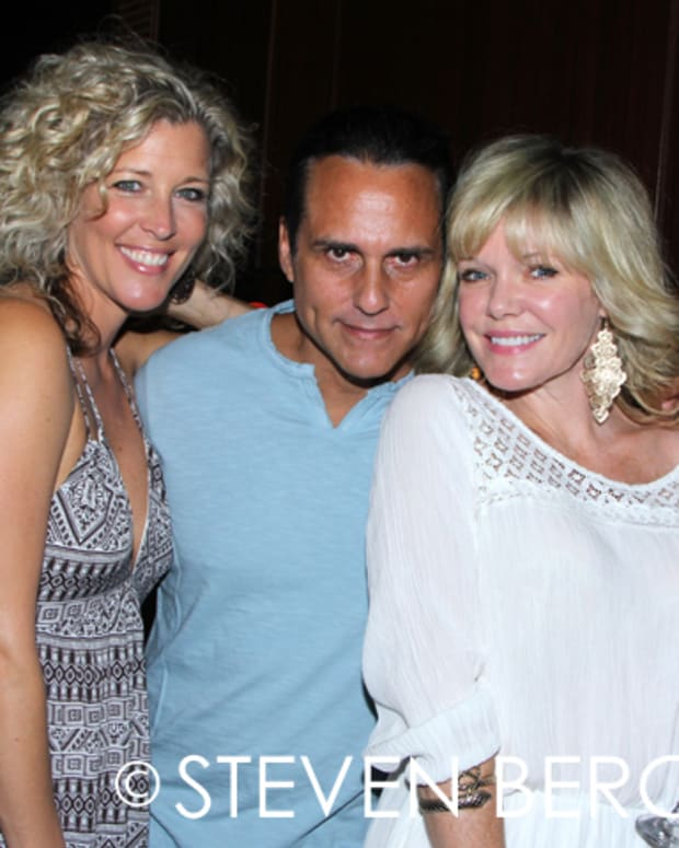 Laura Wright, Maurice Benard, Maura West