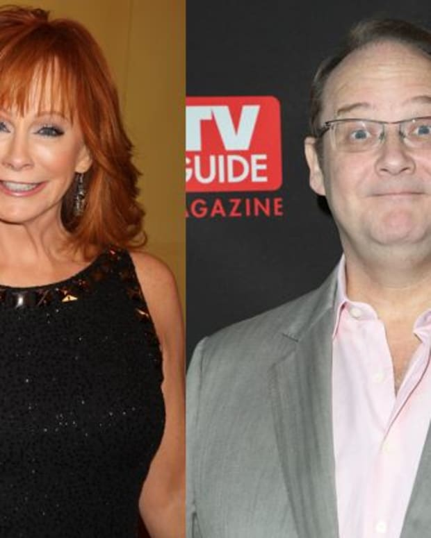 Reba McEntire and Marc Cherry