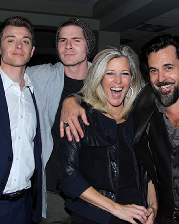 Chad Duell, Robert Palmer Watkins, Laura Wright, Jeffrey Vincent Parise
