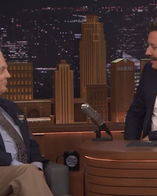 Bill Hayes on The Tonight Show with Jimmy Fallon