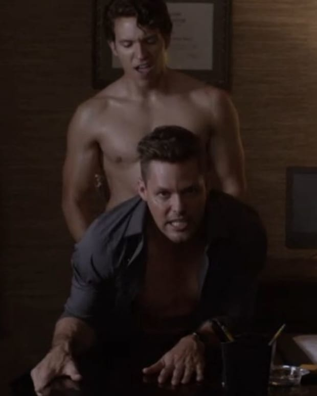 Justin Bruening on Good Behavior