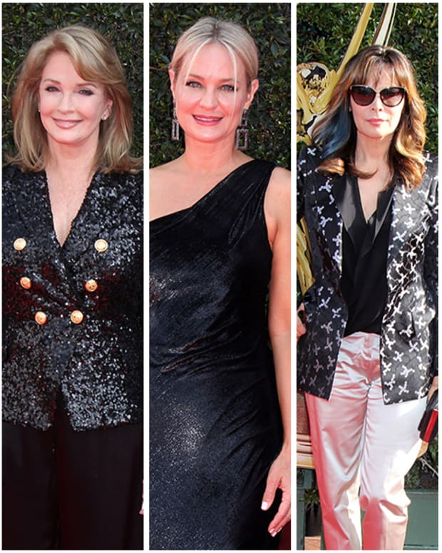 Marci Miller, Deidre Hall, Sharon Case, Lauren Koslow, Louise Sorel
