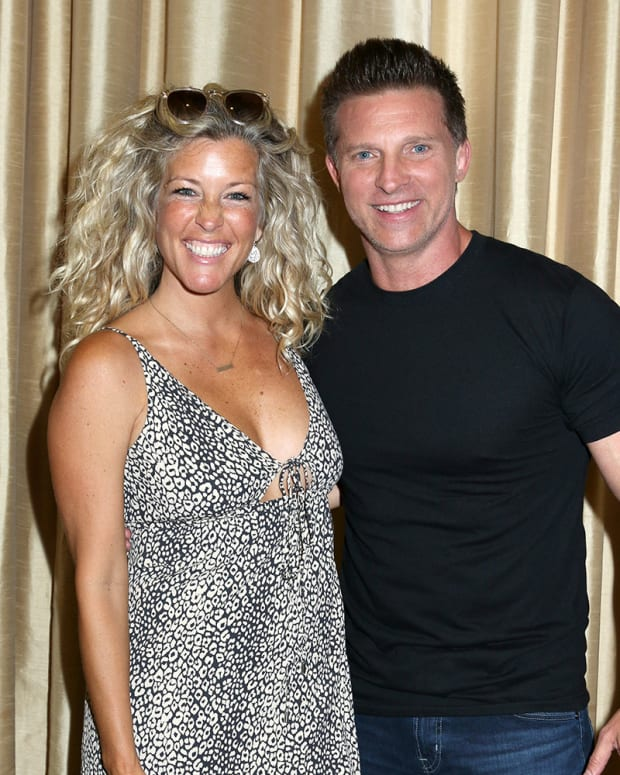 Laura Wright, Steve Burton