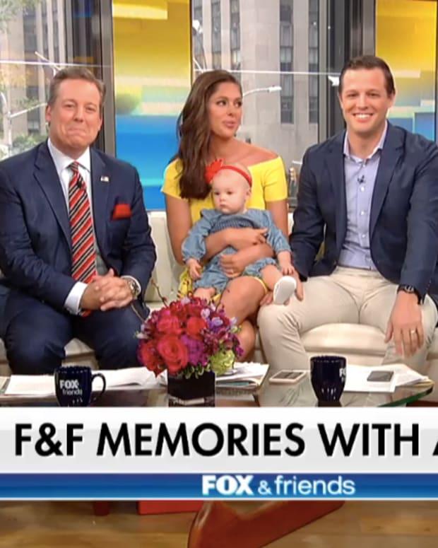 Fox & Friends hots with Abby Huntsman