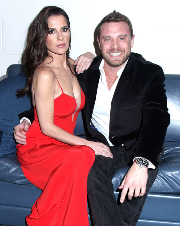 Billy Miller and Kelly Monaco