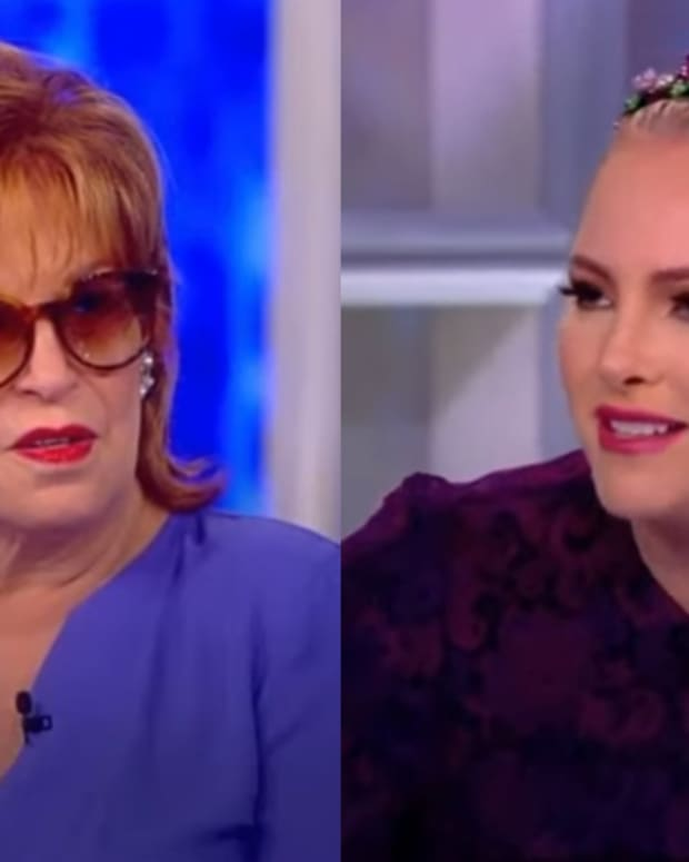 Meghan Mccain The View Joy Behar: Daytime Confidential