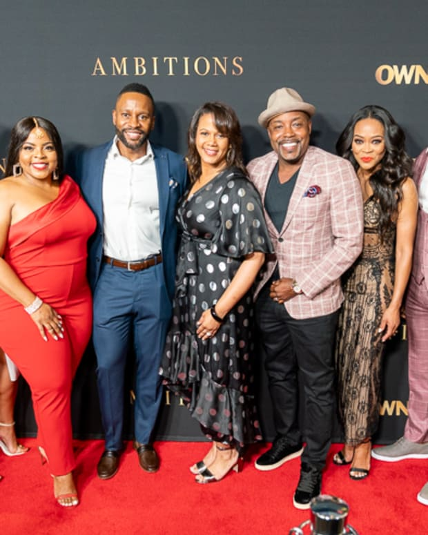 Mara Hall, Erica Page, Brely Evans, Kendrick Cross, Tina Perry, Will Packer, Robin Givens, Brian White, Jamey Giddens