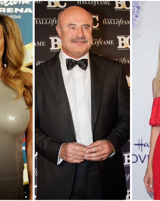 Wendy Williams, Dr. Phil, Kathie Lee Gifford