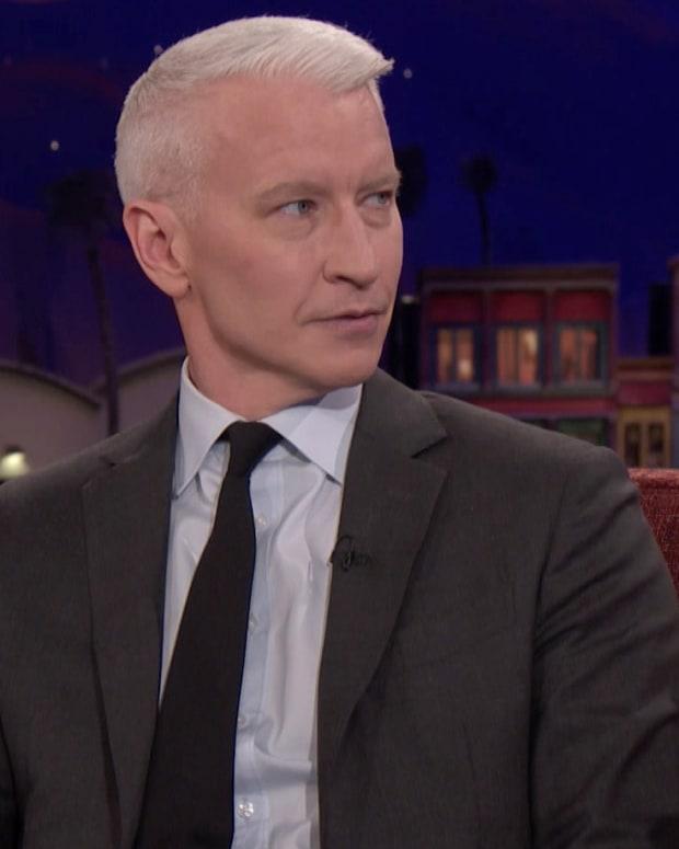 Anderson Cooper on Conan