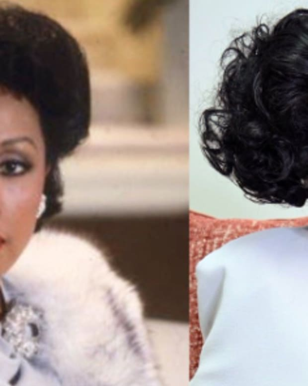 Diahann Carroll And Tamron Hall