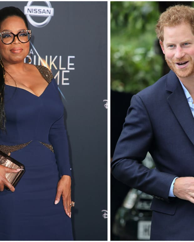 Oprah, Prince Harry