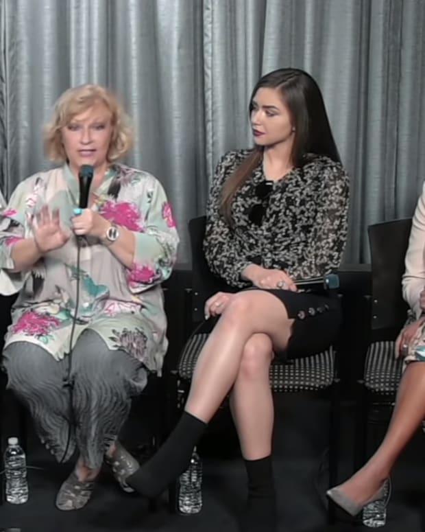 Marci Miller, Beth Maitland, Victoria Konefal, Mishael Morgan