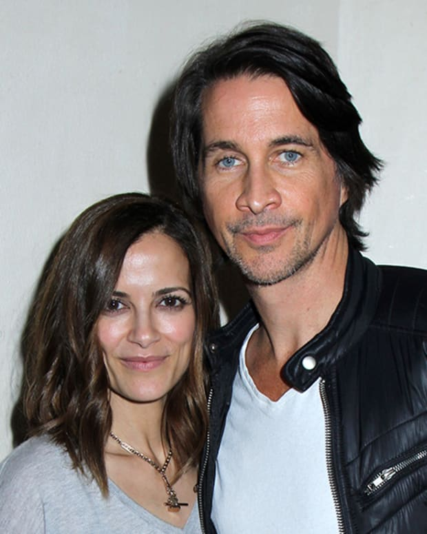 Rebecca Budig, Michael Easton
