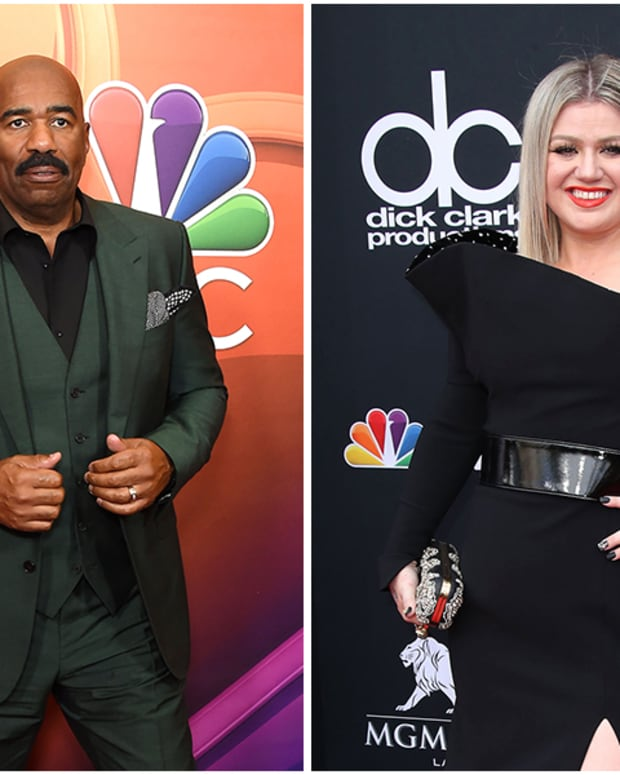 Steve Harvey, Kelly Clarkson