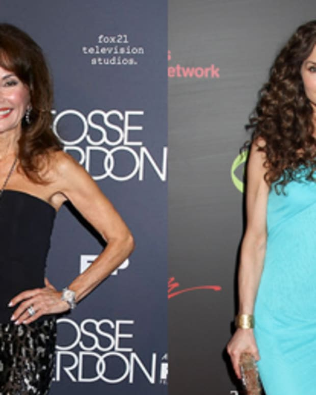 Susan Lucci and Alicia Minshew