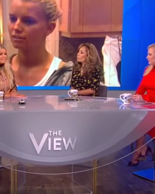 Jessica Simpson The View