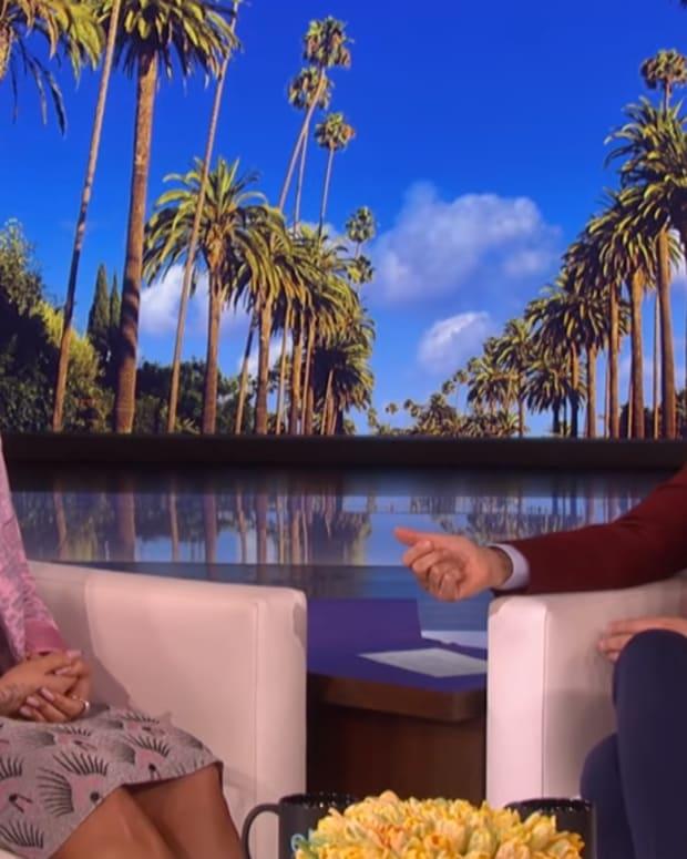 Demi Lovato Ellen DeGeneres