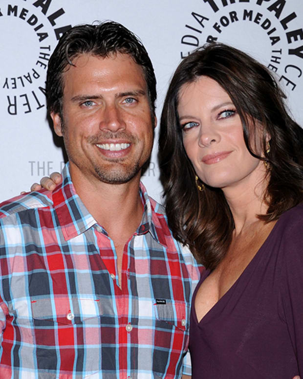 Joshua Morrow, Michelle Stafford