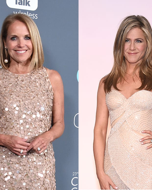 Katie Couric, Jennifer Aniston