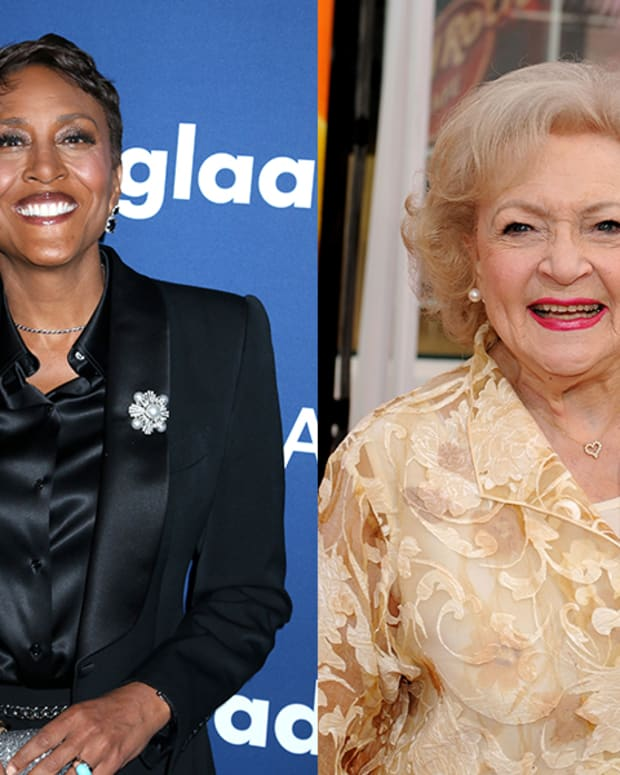 Robin Roberts, Betty White
