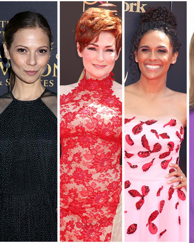 Courtney Hope, Tamara Braun, Carolyn Hennesy, Briana Henry, Marla Adams