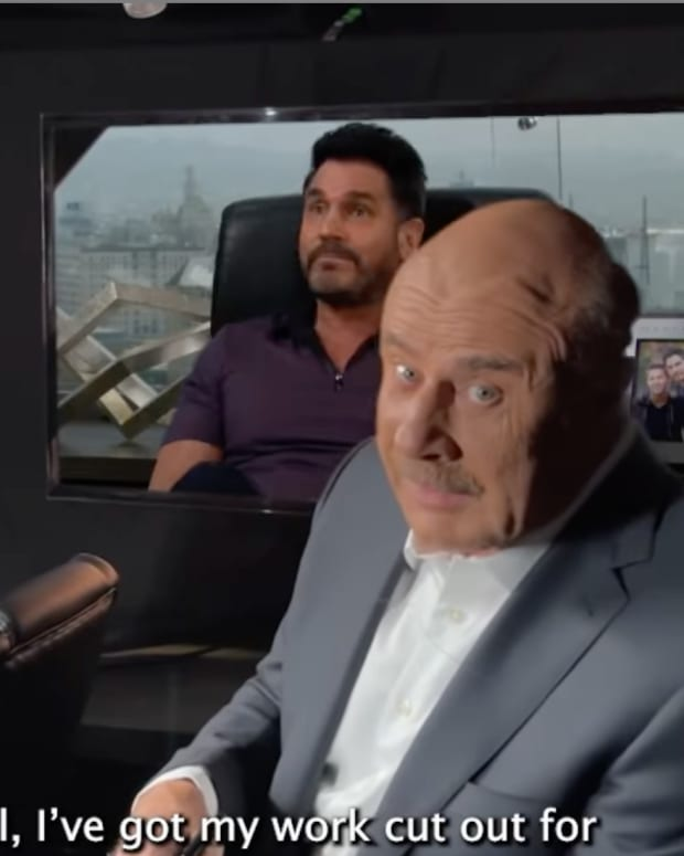 Dr. Phil and Don Diamont