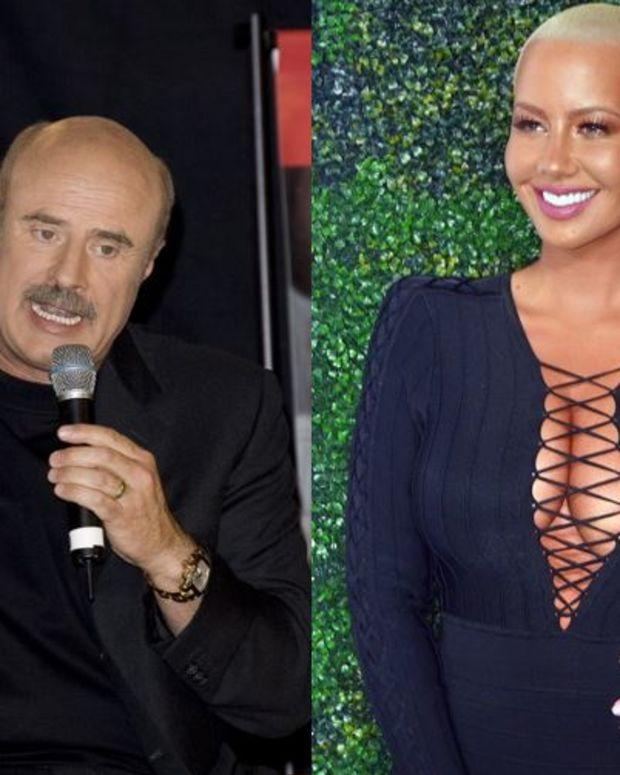 Dr Phil and Amber Rose