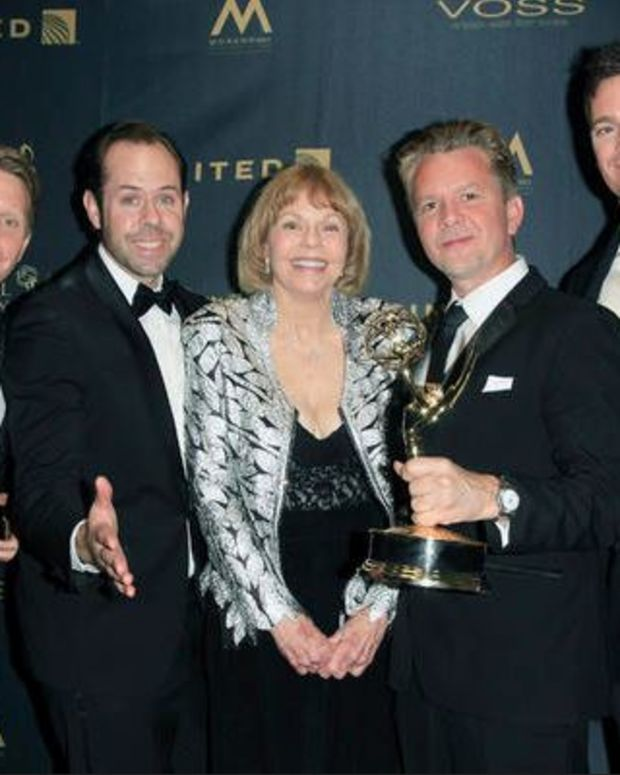 The Bold and the Beautiful Song and Sound Mixing Team with Toni Tenille, Photo Credit: Nina Prommer/Courtesy of NATAS