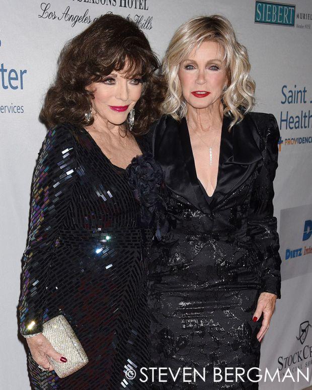 Joan Collins, Donna Mills