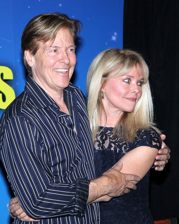 Jack Wagner and Kristina Wagner