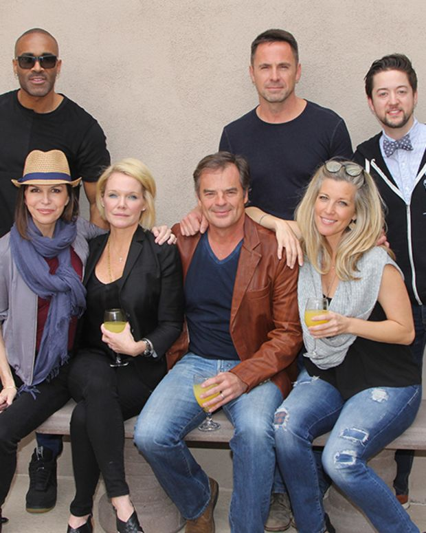Finola Hughes, Maura West, Wally Kurth, Laura Wright, Donnell Turner, William deVry, Bradford Anderson