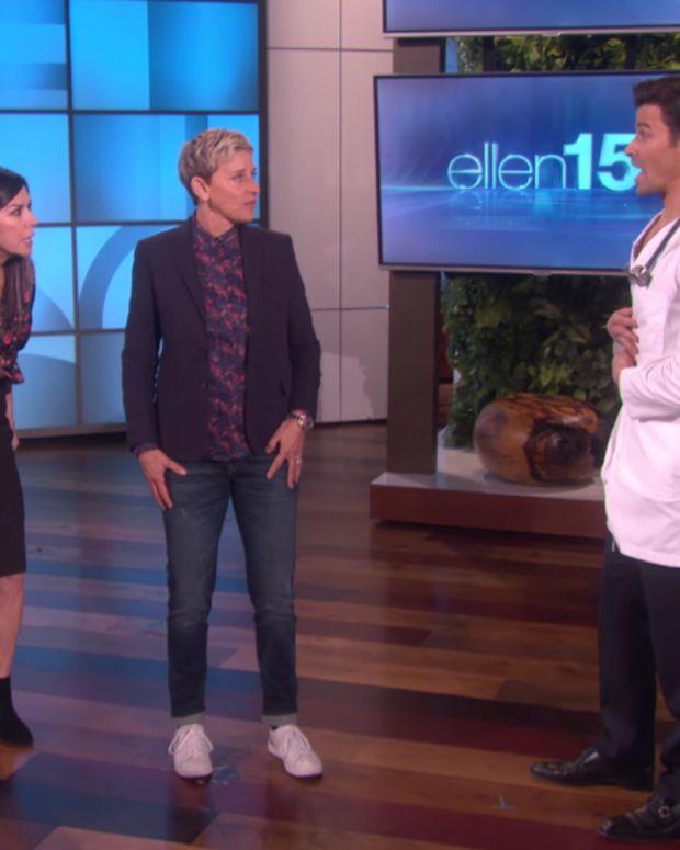 Finola, Ellen, and Matt