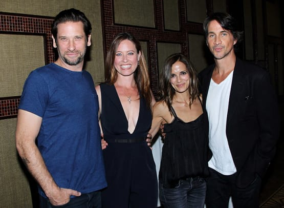 Roger Howarth, Melissa Archer, Rebecca Budig, Michael Easton