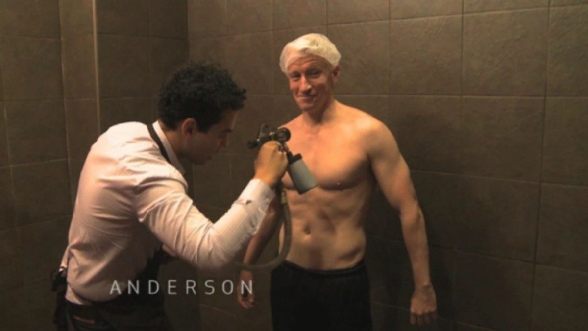 Anderson Cooper Nude Pics 20 daytime hunks we'd like to see caught in a nude pic