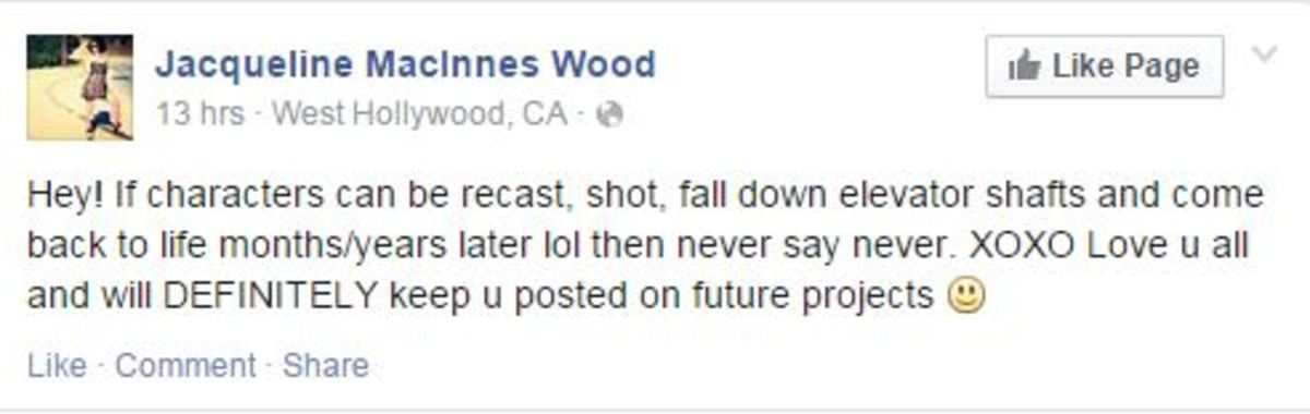 Jacqueline MacInnes Wood Facebook