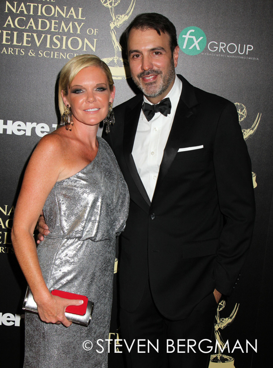 Maura West, Ron Carlivati