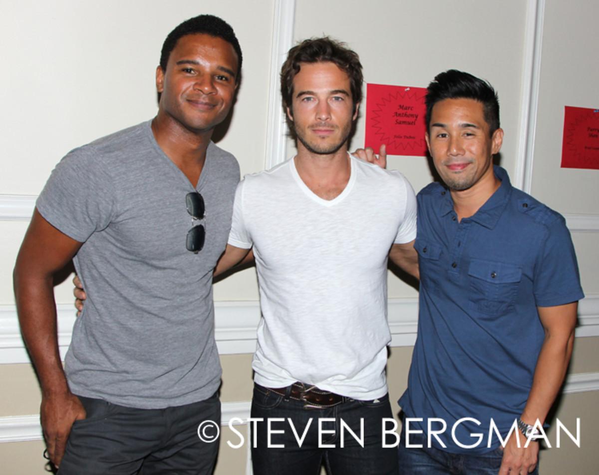 Ryan Carnes, Marc Samuel, Parry Shen