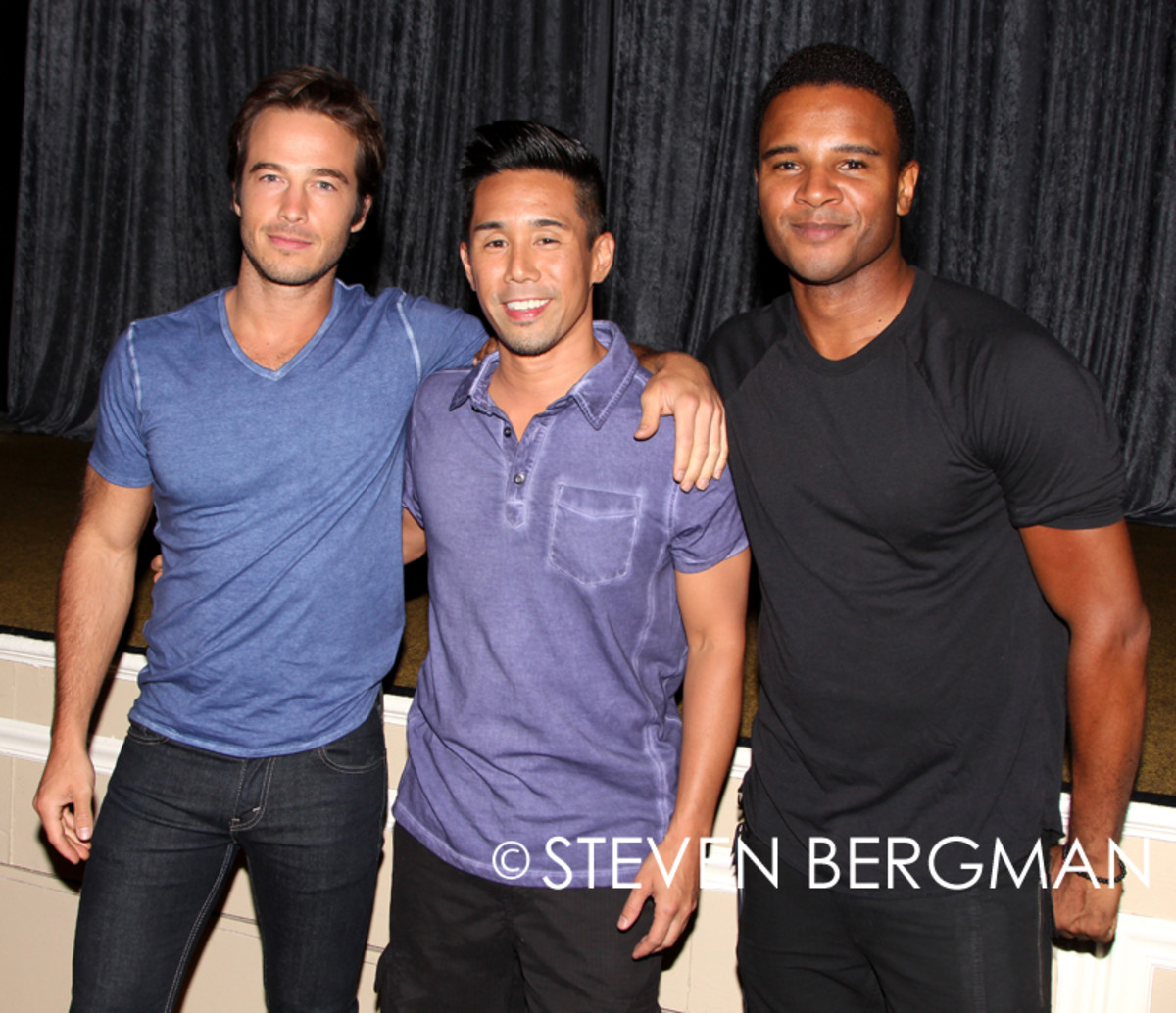 Ryan Carnes, Parry Shen, Marc Samuel, General Hospital Fan Club Weekend