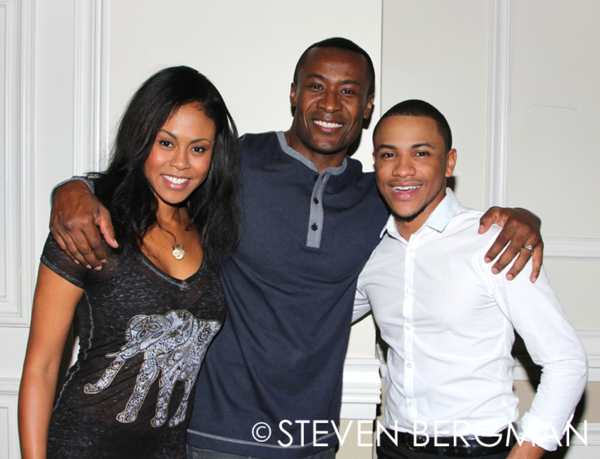 Sean Blakemore, Tequan Richmond, Vinessa Antoine