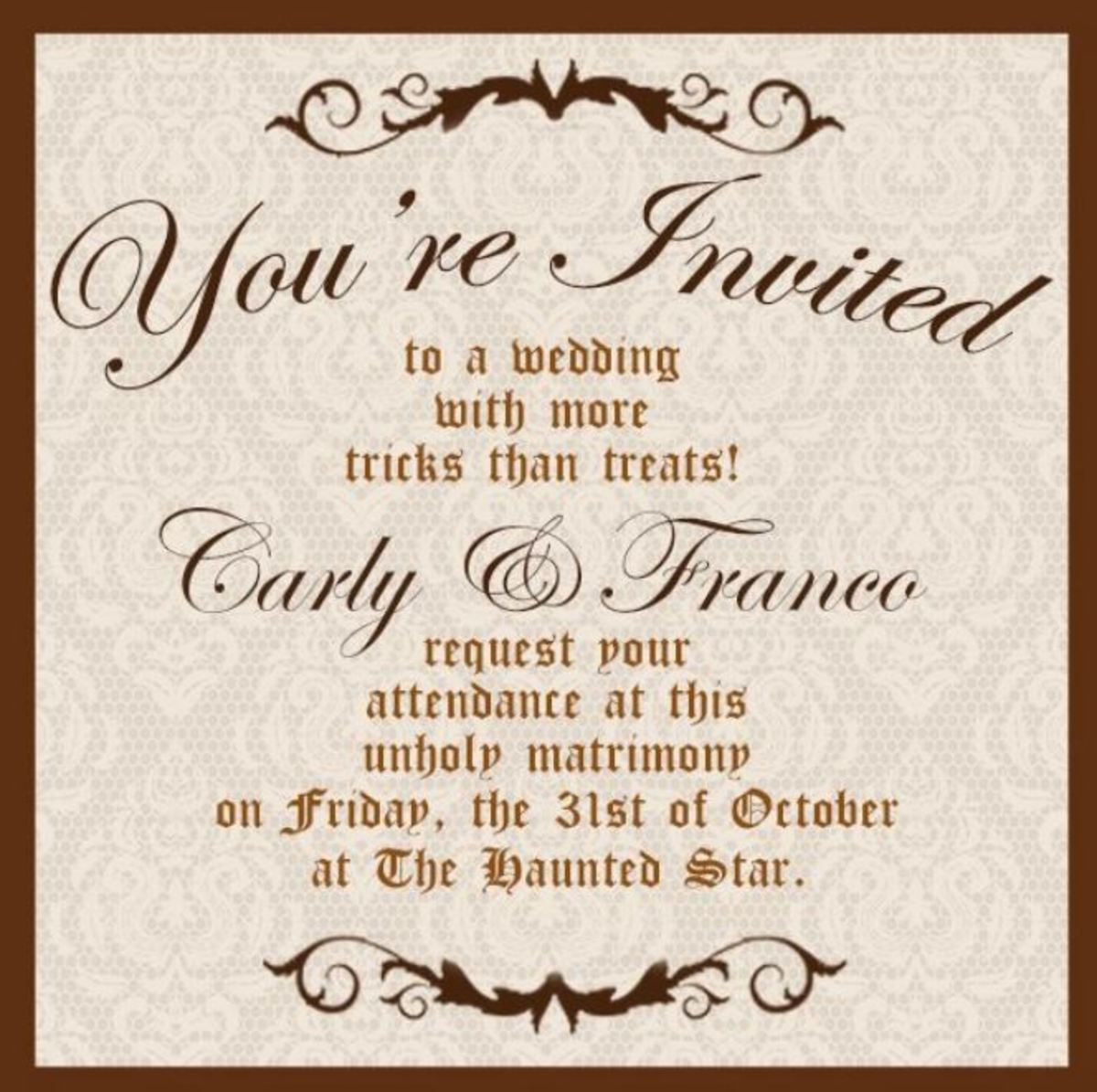 Perkie\'s Observations: Port Charles Gears Up For a Halloween Wedding ...