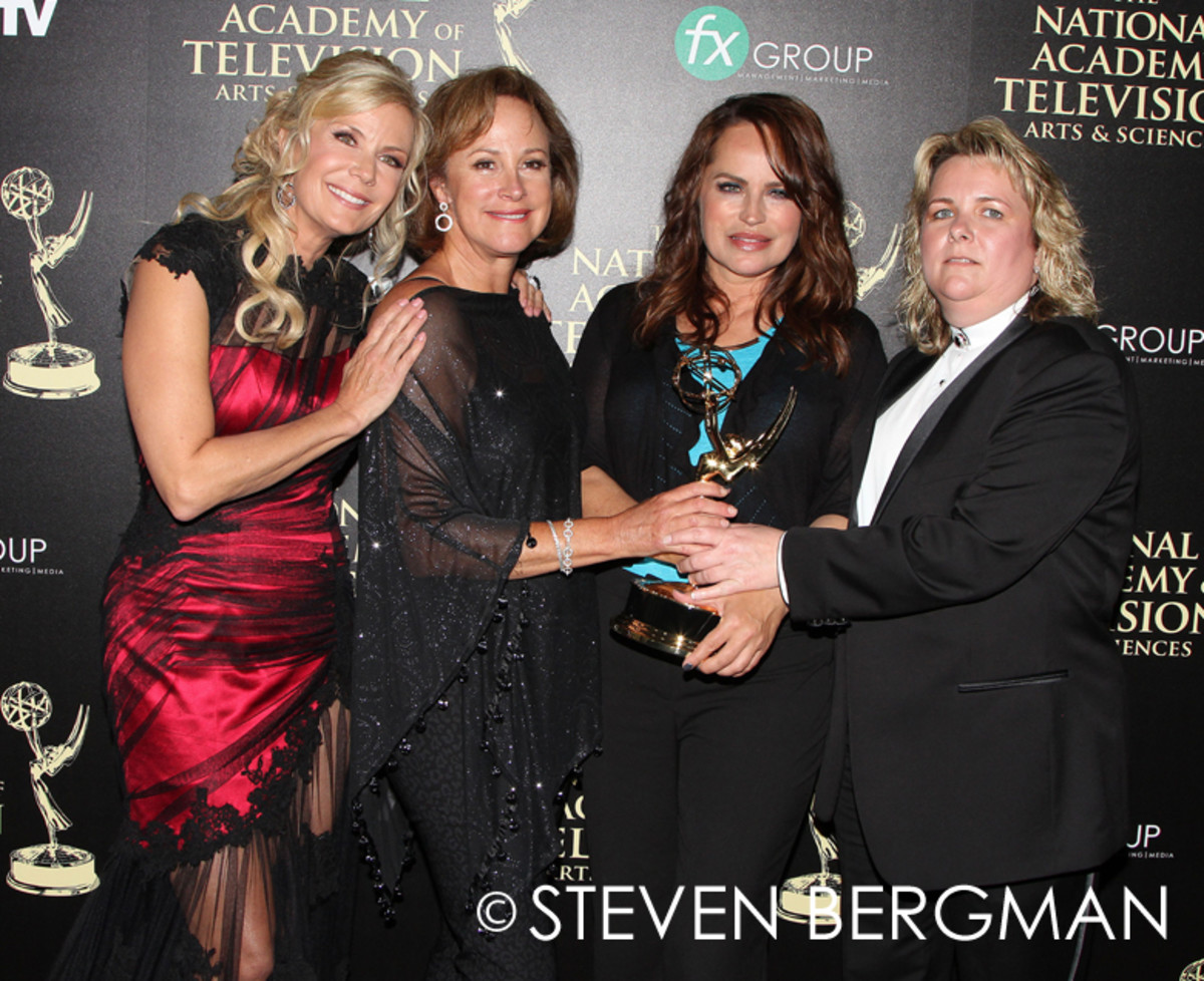 Katherine Kelly Lang, Hillary B. Smith, Crystal Chappell, 2014, Daytime Emmys